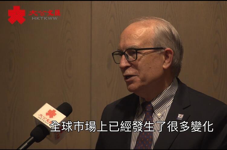 中美經貿關係論壇 | Jeff Moseley¡G中美四十年貿易讓兩國受益匪淺