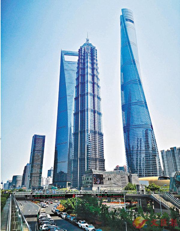 ■據統計,二季度浦東中央商務區空置率上升至13.1%。 章蘿蘭 攝