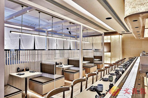 ■千�O希慎分店,將傳統的天然素材滲入現代摩登簡約設計。