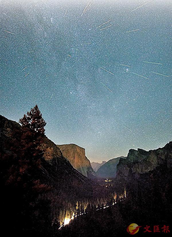 ■ 有�荂u聖洛朗的眼淚」之稱的英仙座流星雨將光臨地球。網上圖片