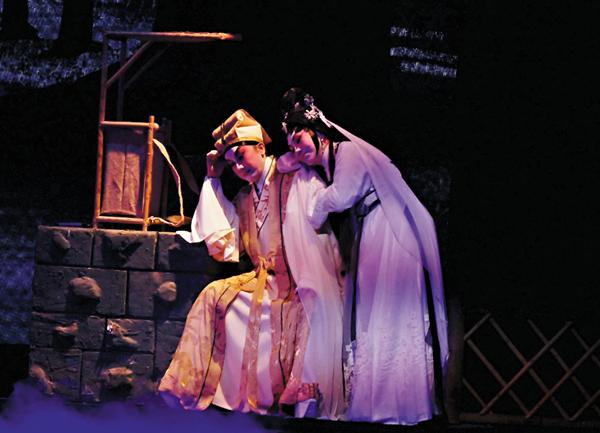 ■蓋鳴暉和吳美英在劇中有不少對手戲,包括人鬼調情及真情交流。