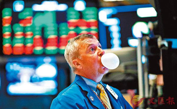 ■恐慌指數VIX在上周累升44.82%的漲幅,反映恐慌情緒正蔓延市場。 法新社