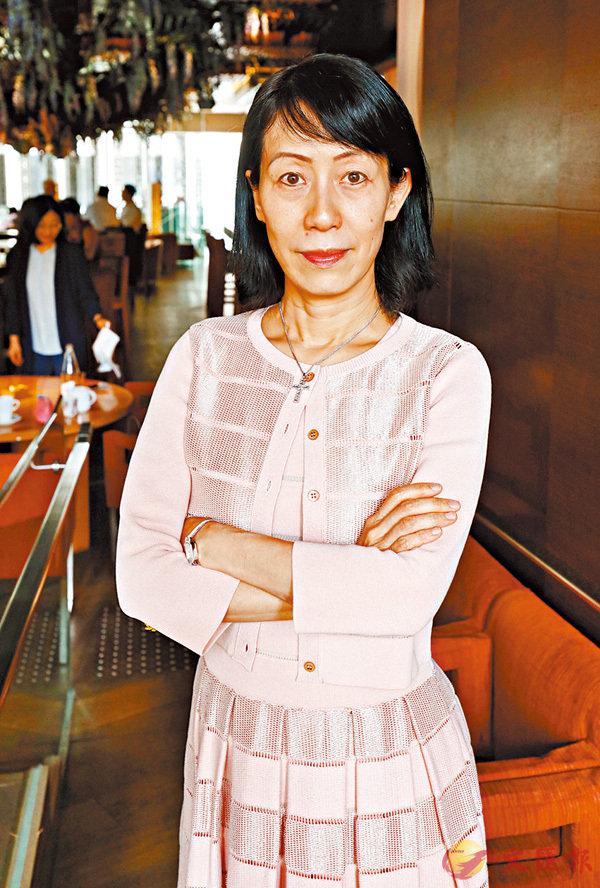 ■楊莉珊。 香港文匯報記者潘達文  攝