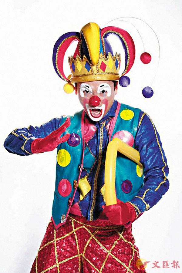 ■小丑王吳浩賓為世界帶來歡樂(照片取自他的面書)。作者提供