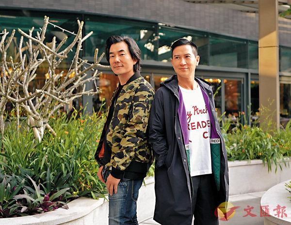 ■張家輝(右)與任賢齊(左)相隔15年再度於《沉默的證人》中合作。