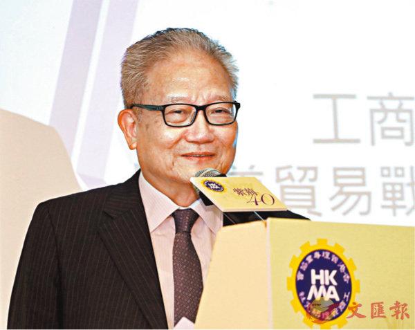 ■吳宏斌稱,政府推出的多項措施,力度之大為近年罕見。 資料圖片