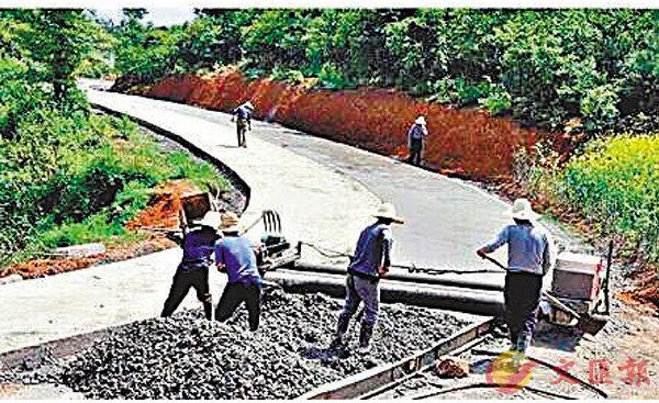 ■村民主動修路護路。 資料圖片