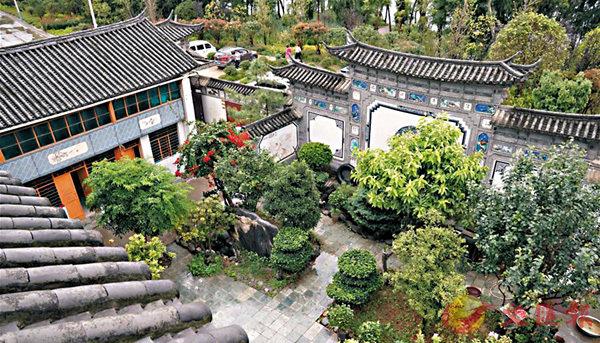 ■李德昌家的白族傳統建築風格小院。 網上圖片