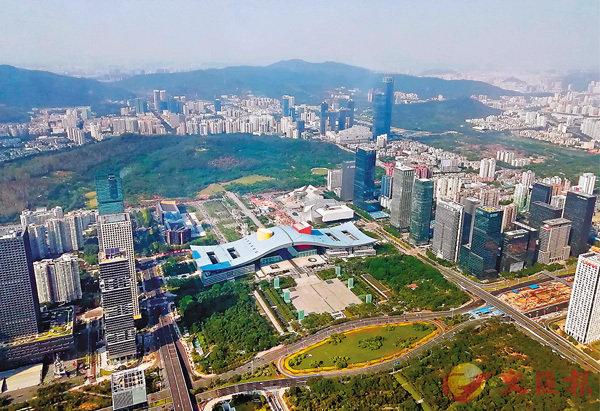 ■深圳獲批建社會主義先行示範區,此舉將給其帶來巨大發展利好。 李昌鴻 攝