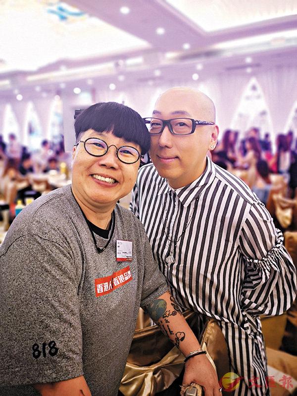 ■張學潤全力支持《香港人撐香港品牌》。