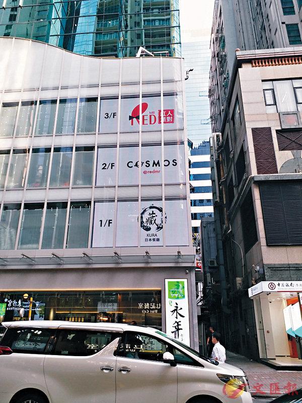 ■兆安廣場以每方呎約45元租出地下電梯入口至3樓樓面。