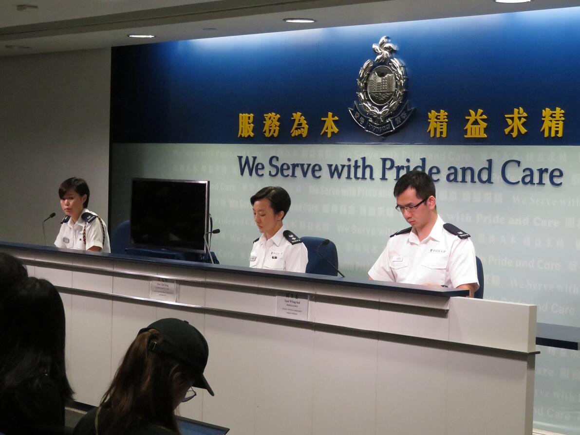 警方澄清葵芳站遲到謠言¡G11分鐘已到場