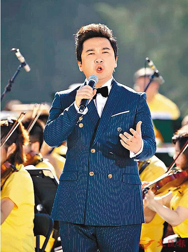■郝幸娃在央視的音樂會中演唱。
