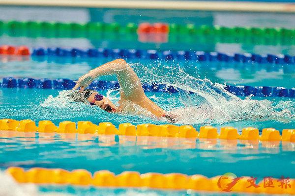 ■鄭苑淇於女子S14級200米自由泳決賽改寫全國紀錄。 殘奧會圖片