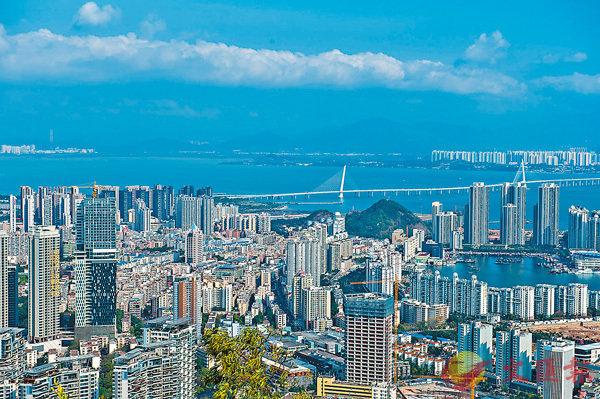 ■廣東自貿區深圳前海蛇口片區。 資料圖片