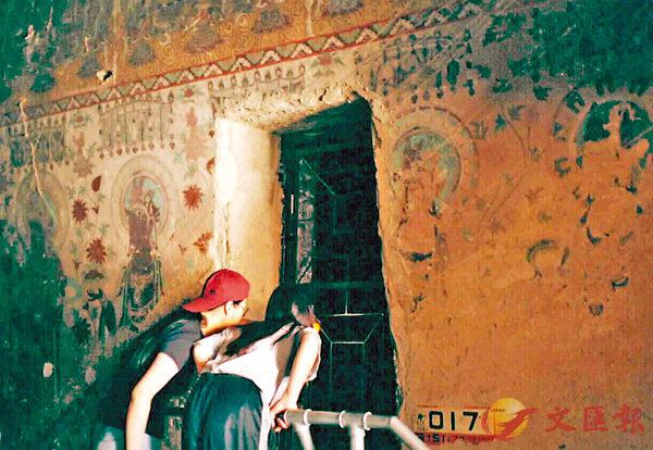 ■藏經洞裡收藏了由魏晉南北朝到宋代合共五萬多件的文獻及文物。 資料圖片