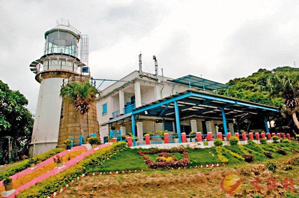 ■青洲燈塔位於香港島西北角的一座小島。 資料圖片