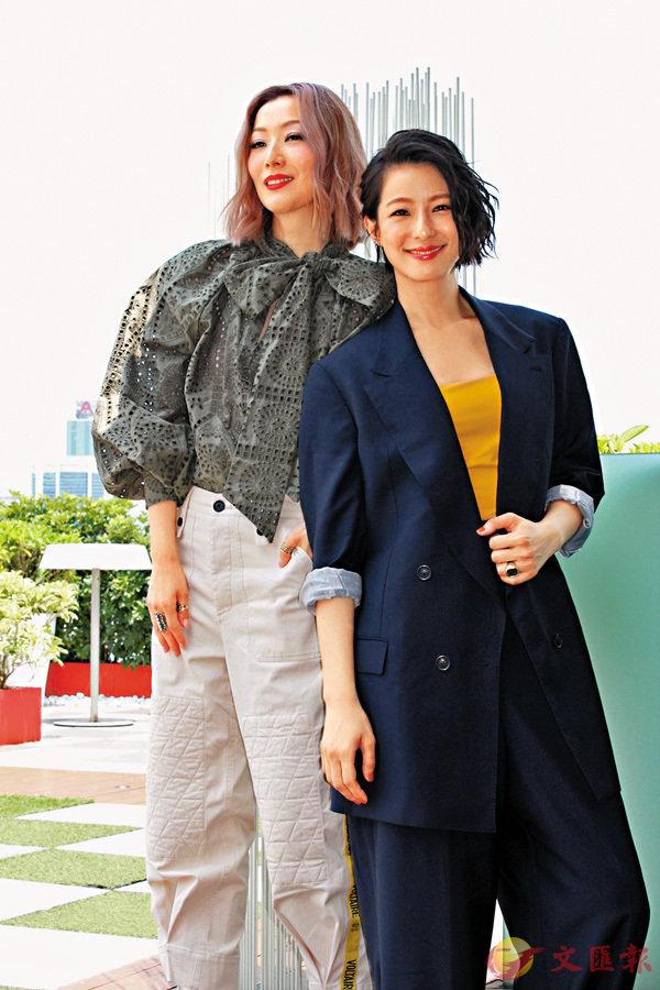 ■ Sammi與賴雅妍投緣,拍畢電影後成為好友。