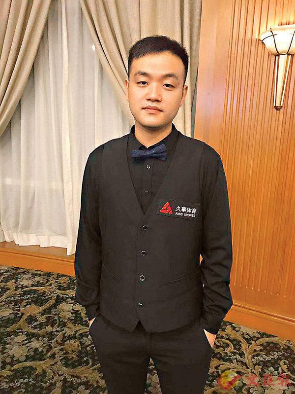 ■上海大師賽黑馬張翼。 香港文匯報記者夏微 攝
