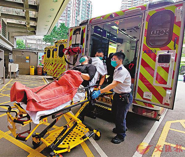 ■紅磡列車出軌,受傷乘客送院。