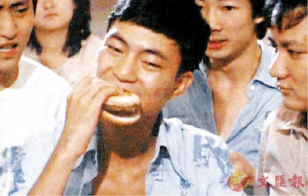 ■ 廖偉雄因在《網中人》飾演程燦而被冠上「阿燦」之名。網上圖片