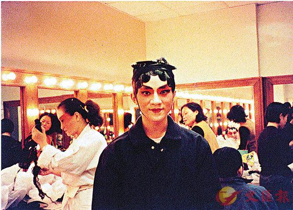 ■王祖藍的京劇扮相。 受訪者供圖