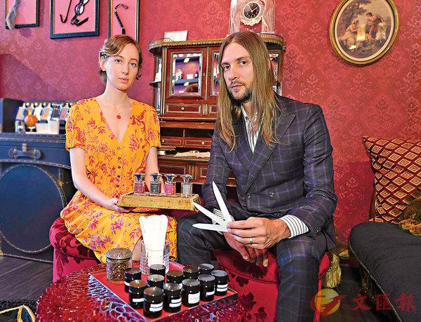 ■Tanya和Matthew Zhuk分享EX IDOLO香水的故事