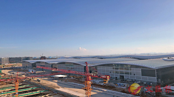 ■該會展中心室內展廳面積一期40萬平米,二期整體建成後將達50萬平米,是全球最大的會展中心。