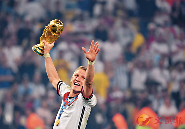 ■小豬2014年以副隊長身份,帶領德國隊勇奪世界盃冠軍。 法新社
