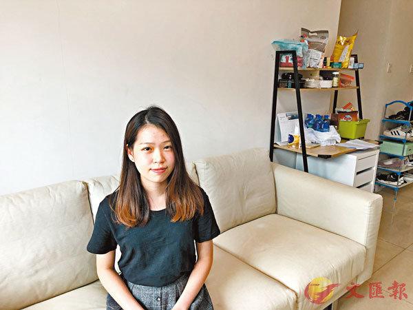 ■Bobo參與「工作x假期@大嶼山」計劃近10個月,現在新翔(香港)公司擔任客戶服務主任。香港文匯報記者 攝