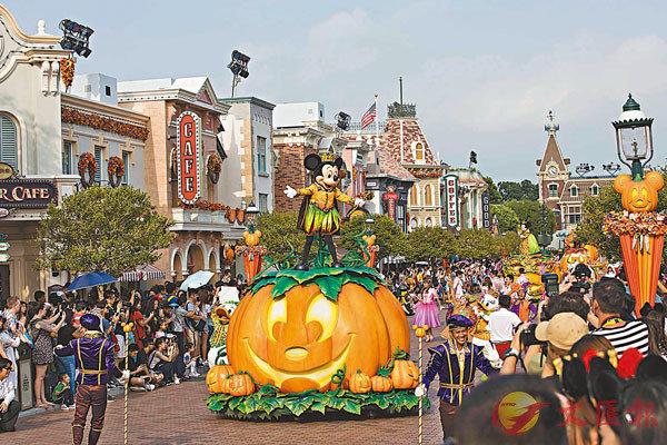 ■米奇Halloween玩轉大街派對