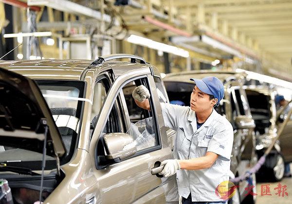 ■內地本周將公佈10月份PMI,市場預期為49.8,意味�蚖s造業仍處於收縮區。 資料圖片