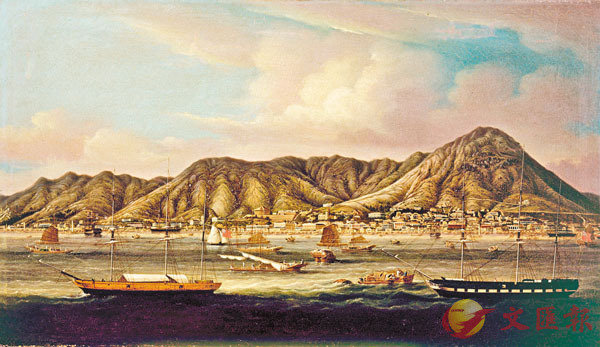 ■王韜的《物外清遊》記載了香港剛開埠時的景色。資料圖片