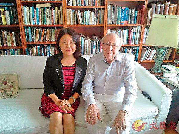 ■向這位62年來以香港為家的鍾逸傑爵士致敬! 作者提供