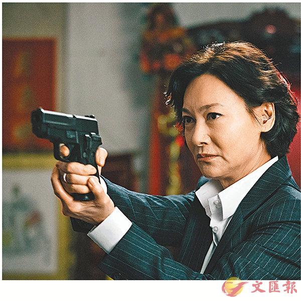 ■惠英紅憑《鐵探》爭最佳女主角。