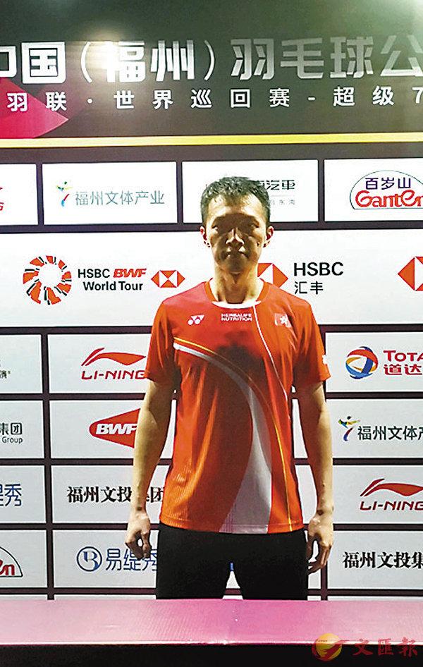 ■伍家朗希望在之後香港賽有更好發揮。 香港文匯報記者蘇榕蓉 攝
