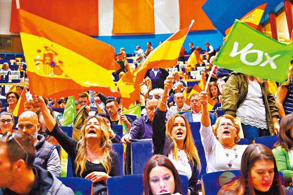 ■「加獨」暴亂激發選民愛國情緒。 法新社