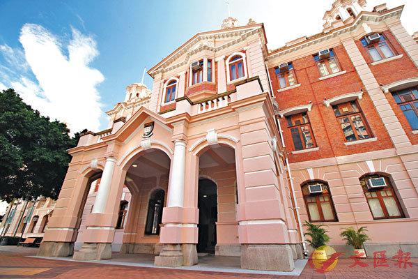 ■國際高等教育研究機構QS公佈2020年亞洲大學排名,香港大學下跌一級,排名第三位。圖為香港大學本部大樓。 資料圖片