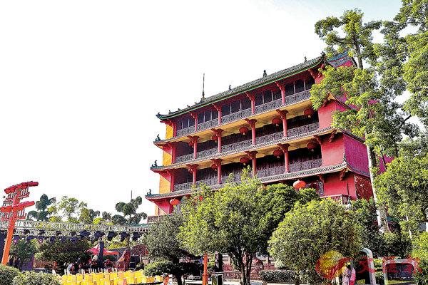 ■古色古香的鎮海樓。 廣州博物館供圖