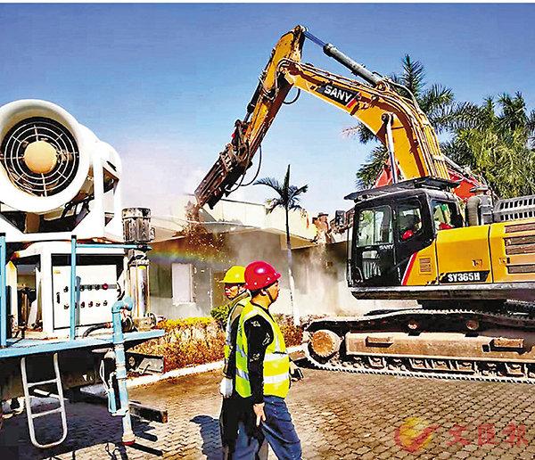 ■皇崗口岸拆除重建工程全面啟動。 受訪者供圖