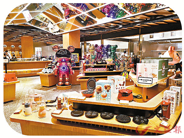 ■店內設有市集零售區,顧客可購買周邊產品。