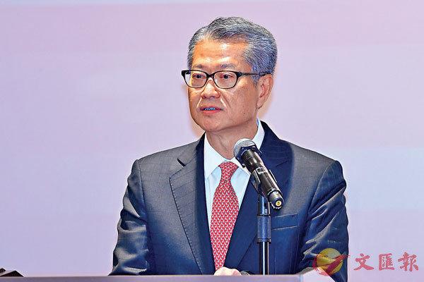 陳茂波:「社會風波」影響金融市場有限
