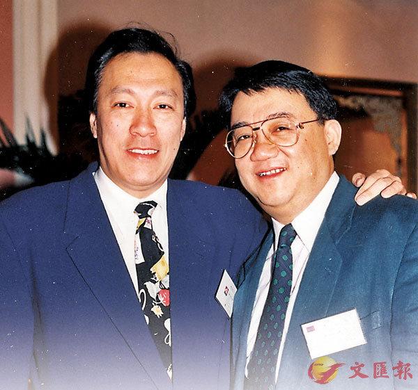 ■黎小田和陳欣健曾讀同一中學。