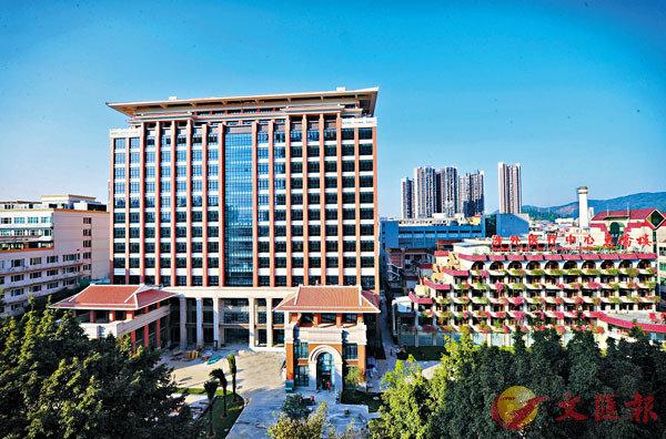 ■惠僑樓新大樓將提供更舒適的就醫環境。 受訪者供圖