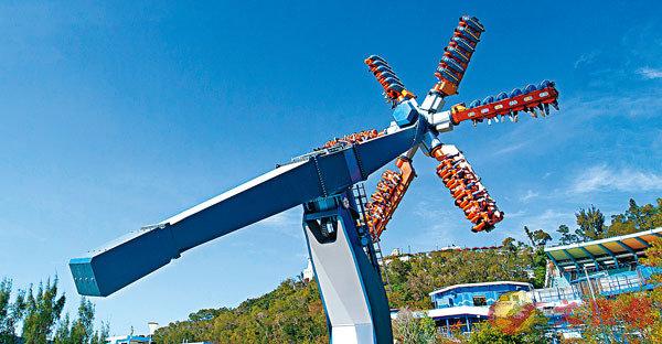 海洋公園本月將會推出全新的「狂野龍捲風」。