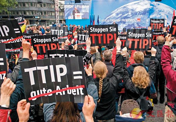 ■全球各地都有反全球化的示威活動。 資料圖片