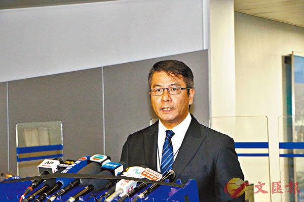 ■陳偉基。香港文匯報記者  攝