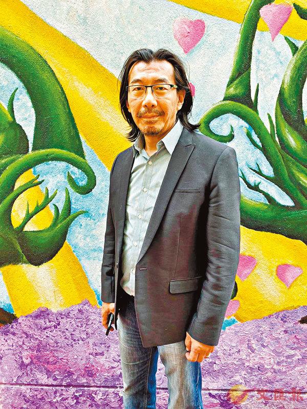 ■資訊科技體育基金創辦人陳岡毅。 張美婷 攝