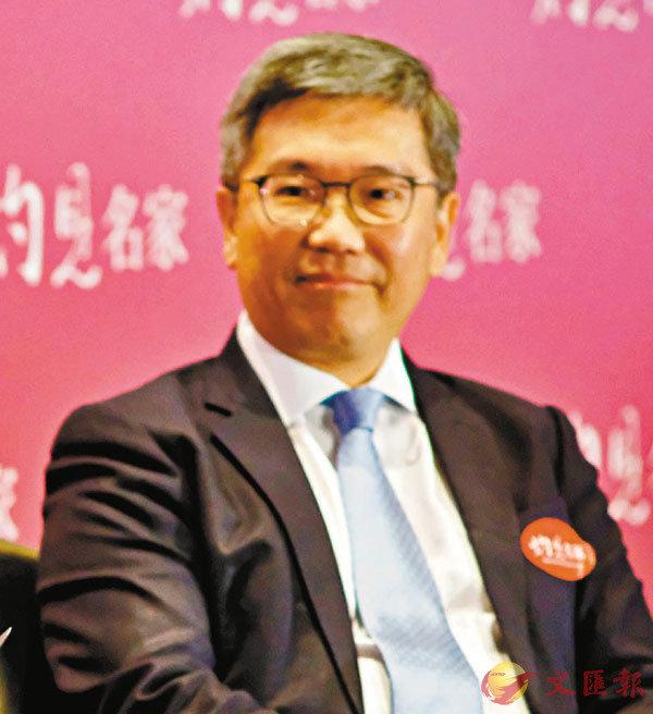 ■金管局副總裁阮國�琤X席灼見名家第二屆財經峰會。 香港文匯報記者  攝