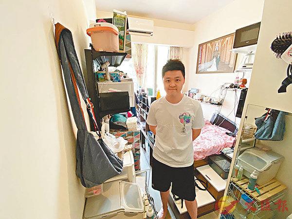 ■Jacky稱,菁雋不會是自己最後的理想居所,下一個目標是買入御半山380呎2房單位。